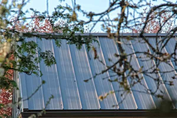 Irwin VI Steel Roof - Charcoal Grey