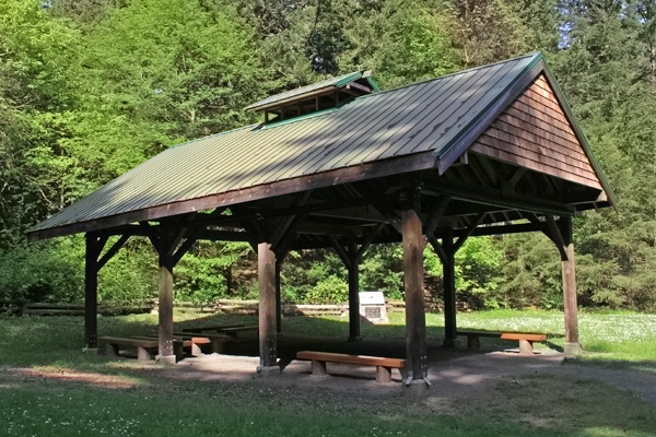 Irwin VI Steel Roof - Witty's Lagoon Teaching Shelter