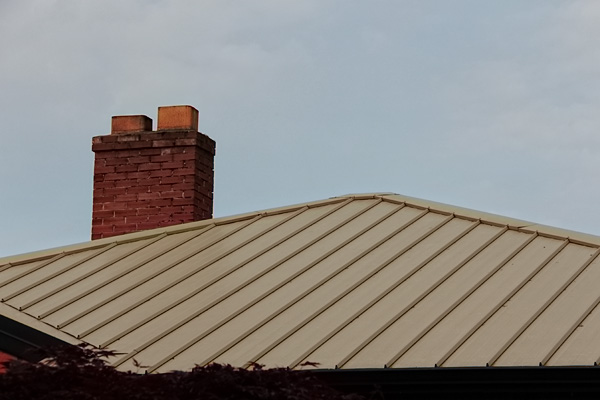 Irwin VI Steel Roof - Tan